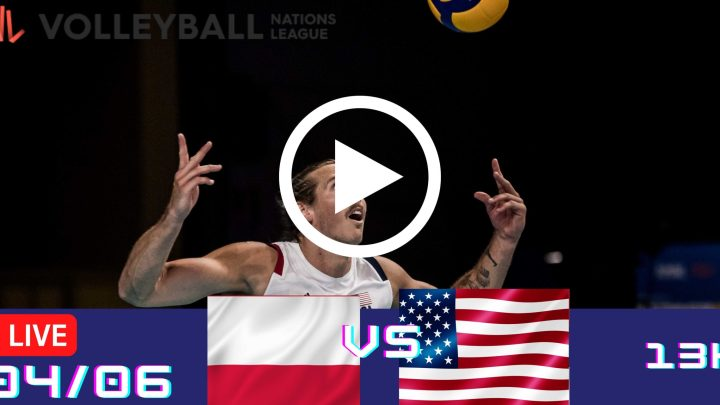 Resultado: Polônia 3 vs 0 EUA – Liga das Nações – 04/06 – 13h
