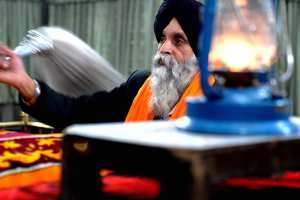 Threatened minority: An Afghan Sikh at a religious ceremony in Kabul. Chris Sands / The National