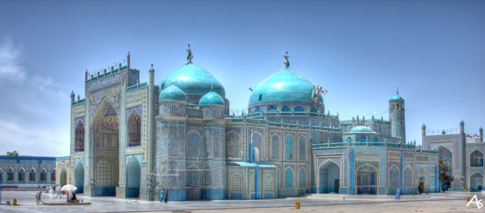 Mazar e Sharif Blue Mosque