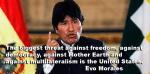 Evo Morales Venezuela Weekly