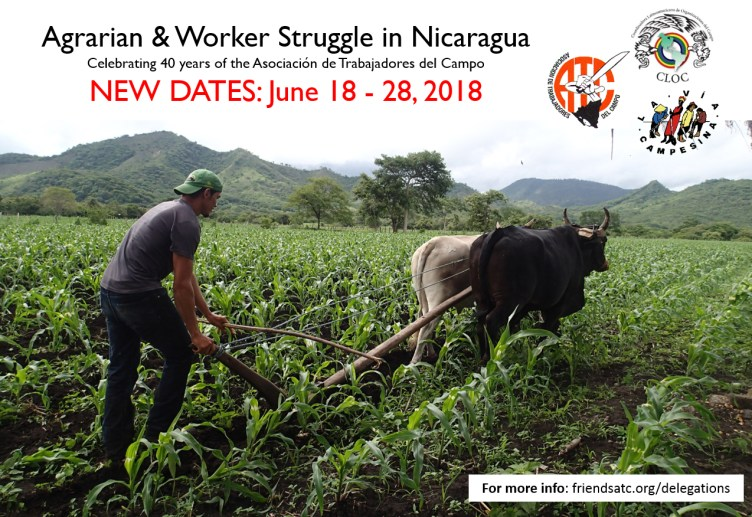 Nicarauga Delegation