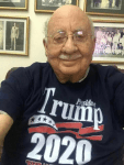 La Prensa owner Jaime Chamorro with his Trump Shirt