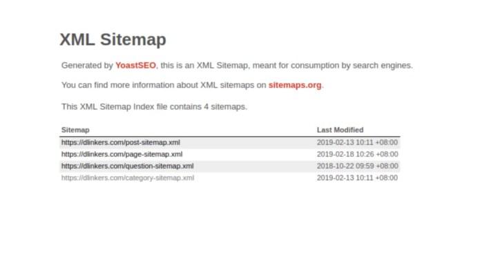 Google XML أم Yoast SEO