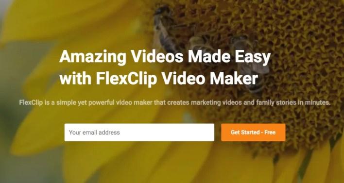 FlexClip: صانع فيديو مجاني على الانترنت