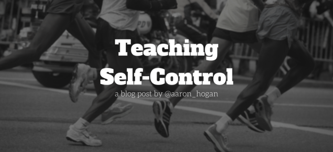 TeachingSelf-Control