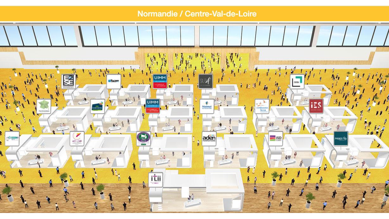 AFI-LNR - Salon de l'Apprentissage - Hall Normandie / Centre Val de Loire