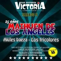 SANTIAGO / PAC: SÁBADO 09 DE NOVIEMBRE DE 2013 - 25 AÑOS MAIHUÉN DE LOS ANGELES