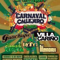 SANTIAGO: VIERNES 15 DE MAYO DE 2015 - CARNAVAL CALLEJERO LA TRANSA