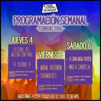 SANTIAGO: JUEVES 04, VIERNES 05 Y SÁBADO 06 DE FEBRERO DE 2016 - FONDA PERMANENTE LA POPULAR