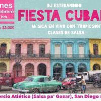 SANTIAGO: VIERNES 12 DE FEBRERO DE 2016 - FIESTA CUBANA