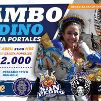 VALPARAÍSO: VIERNES 29 DE ABRIL DE 2016 - TAMBO ANDINO EN CALETA PORTALES
