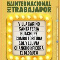 SANTIAGO: SÁBADO 30 DE ABRIL DE 2016 - DÍA INTERNACIONAL DEL TRABAJADOR