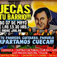 PEDRO AGUIRRE CERDA: SÁBADO 07 DE MAYO DE 2016 - CUECAS EN TU BARRIO!!!