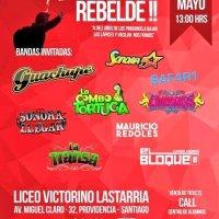 PROVIDENCIA: SÁBADO 07 DE MAYO DE 2016 - EL CUMBIAZO REBELDE!!
