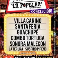 CONCEPCIÓN: VIERNES 20 DE MAYO DE 2016 - FONDA PERMANENTE LA POPULAR