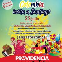PROVIDENCIA: SÁBADO 23 DE JULIO DE 2016 - COLOMBIA INVITA A SANTIAGO