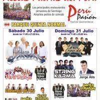 SANTIAGO: SÁBADO 30 Y DOMINGO 31 DE JULIO DE 2016 - FIESTAS PATRIAS DEL PERÚ