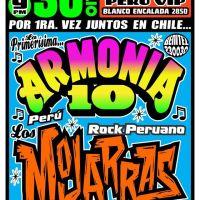 SANTIAGO: SÁBADO 30 DE JULIO DE 2016 - ARMONÍA 10 + LOS MOJARRAS
