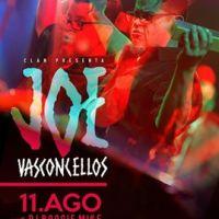 RECOLETA: JUEVES 11 DE AGOSTO DE 2016 : JOE VASCONCELLOS