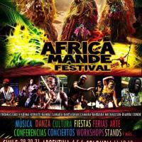 CAJÓN DEL MAIPO: SÁBADO 29, DOMINGO 30 Y LUNES 31 DE OCTUBRE DE 2016 - AFRICA MANDE FESTIVAL