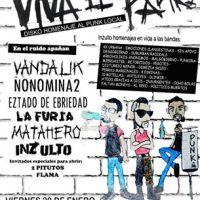 viernes 20 de enero de 2017: VIVA EL PANK! #stgo