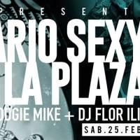 sábado 25 de febrero de 2017: SANITARIO SEX & LA PLAZA #clan