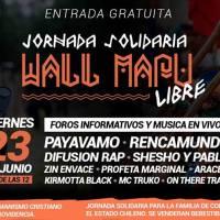 viernes 23 de junio de 2017: JORNADA SOLIDARIA WALLMAPU LIBRE #AcademiaHumanismoCristiano