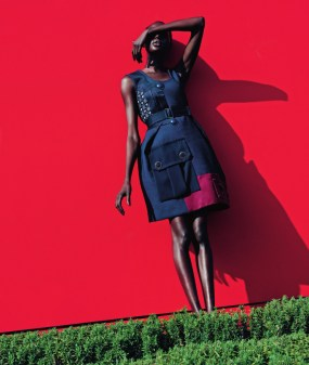 mixed message Ajak Deng by julia noni for neiman marcus 14
