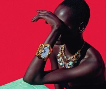 mixed message Ajak Deng by julia noni for neiman marcus 22