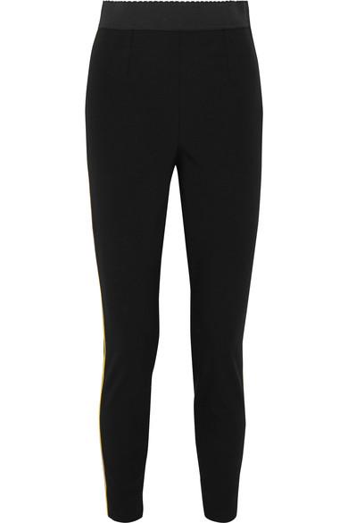 dolce-gabbana-satin-trimmed-stretch-wool-and-silk-blend-leggings