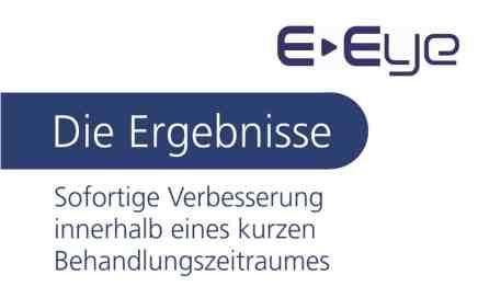 E-Eye Ergebnisse Behandlung trockenes Auge