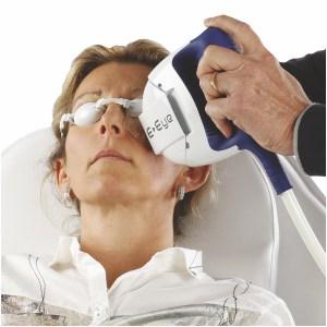 Behandlung E-Eye gegen trockene Augen