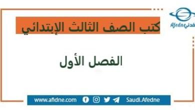 Photo of تحميل كتب الصف الثالث الإبتدائي المنهج السعودي