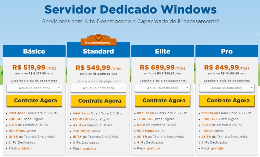 servidor dedicado hostgator brasil