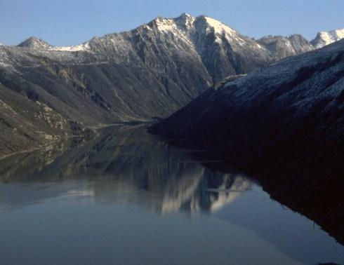 30-Cold Lake & reflection-Dig