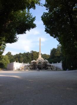 The obelisk at Schönbrunn