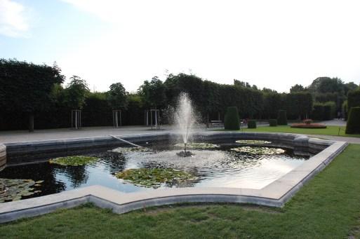 A fountain at the Scönbrunn park