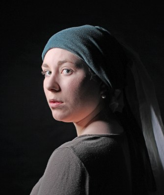 Recreation Girl with the Pearl Earring