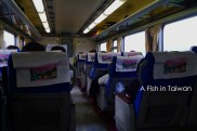 Managed to get a seat on the train to Hualien - I needed it!