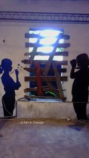 Wall art @ BOUNCE