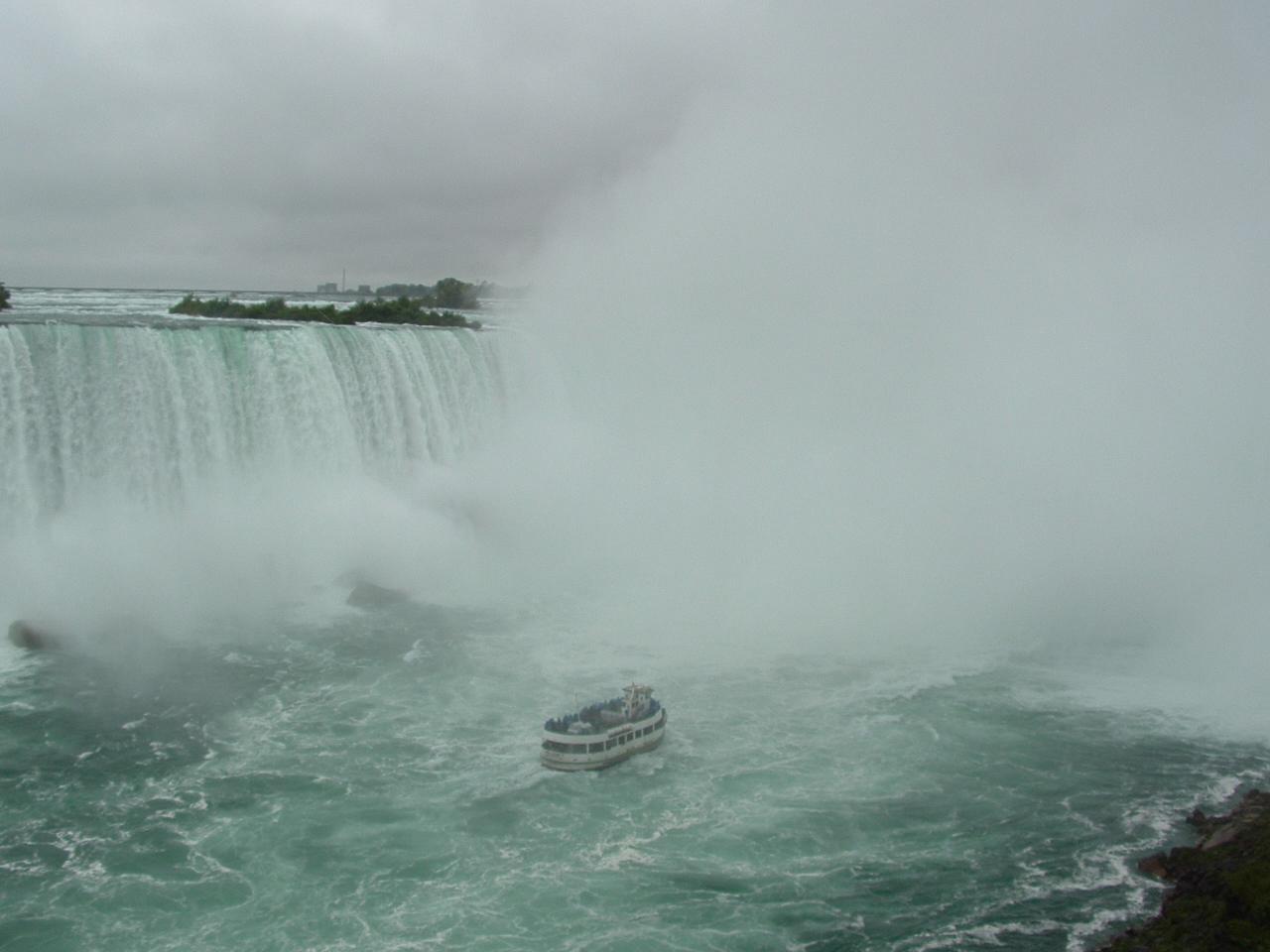 Niagara Falls Down To The Fox