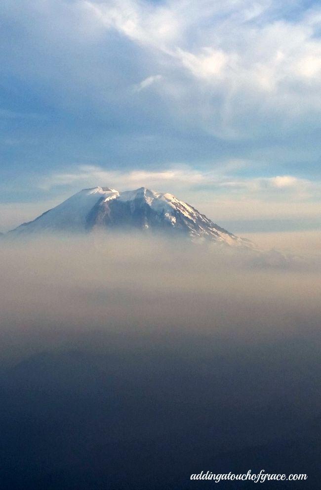 Mt. Rainier smoke