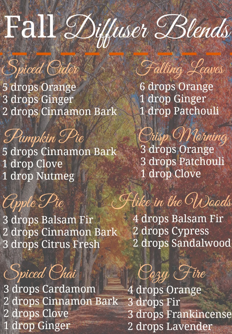 These fall diffuser blends are a non-toxic way to make your house smell amazing during the fall season!