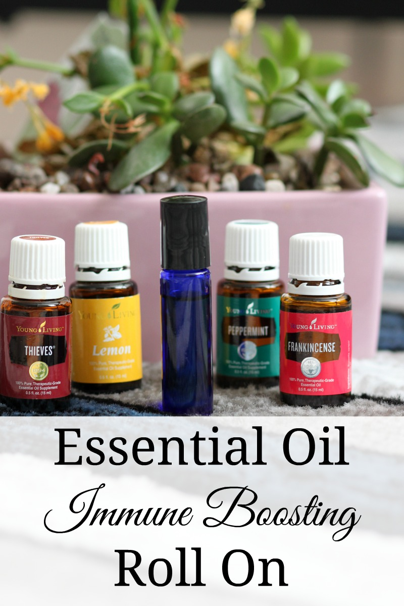 An essential oil immune boosting roll on is a must for those fall and winter months when we want to keep our immune systems happy and healthy.  #essentialoils