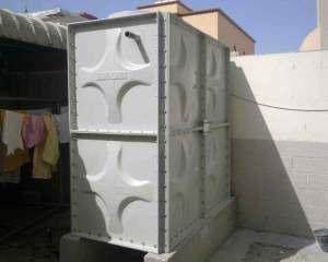 تغطية خزانات المياه