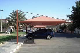 تركيب المظلات للسيارات