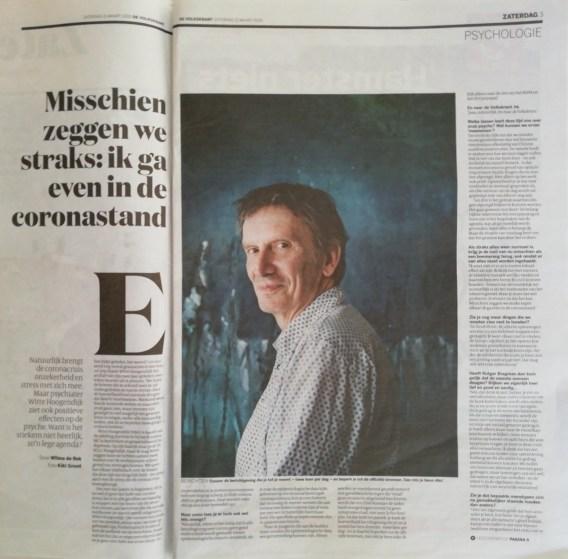 Artikel van psychiater Witte Hoogendijk
