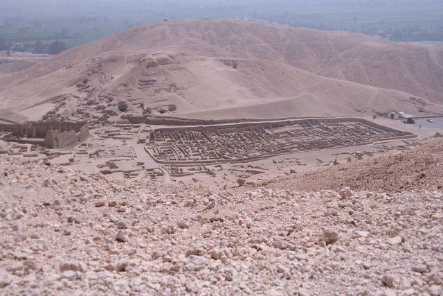 Valley of the Artisans near Luxor, Egypt