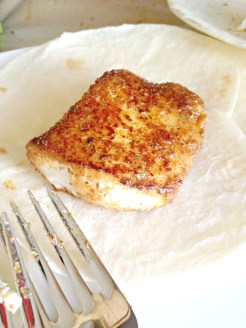 cooked tilapia filet.