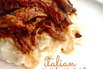 crockpot italian pot roast